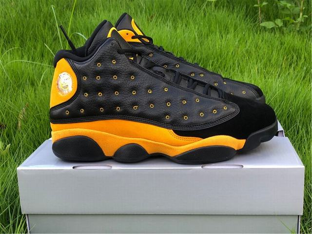 Authentic Air Jordan 13 Oregon Yellow