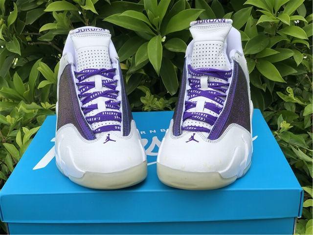 "Authentic Air Jordan 14 ""Doernbecher""  White"