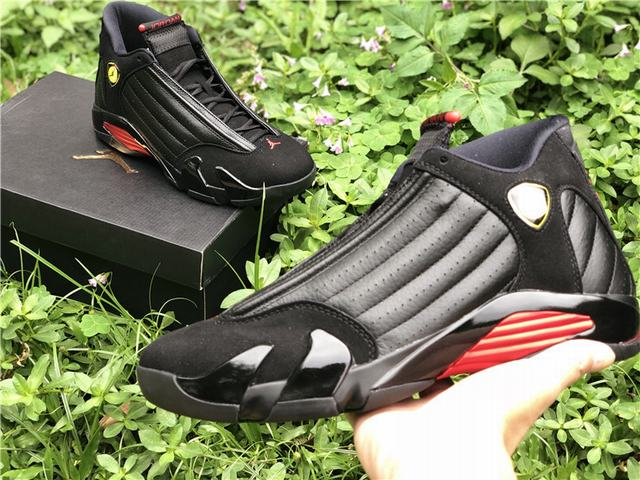 "Authentic Air Jordan 14 ""Last Shot"""