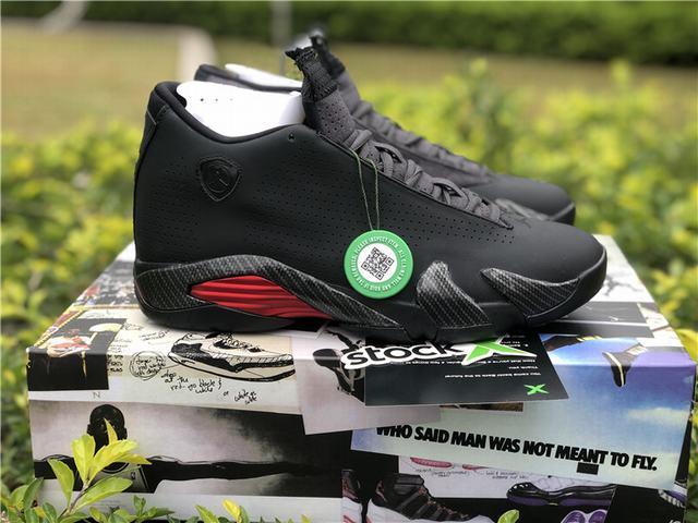 """Authentic Air Jordan 14 SE """"Black Ferrari"""""""