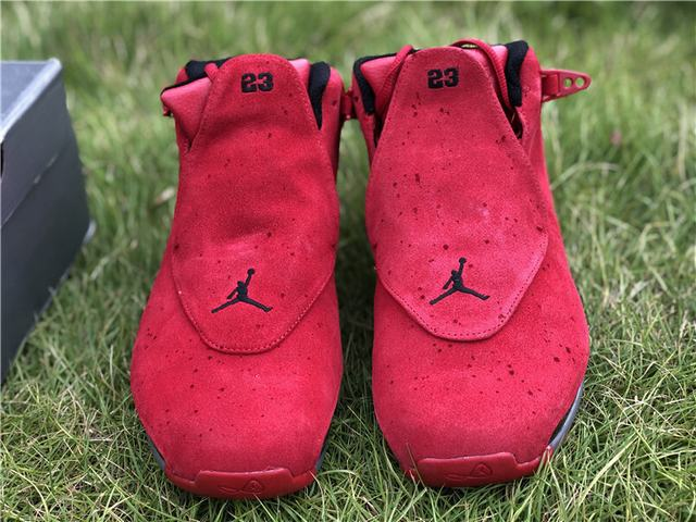 Authentic Air Jordan 18 Gym Red