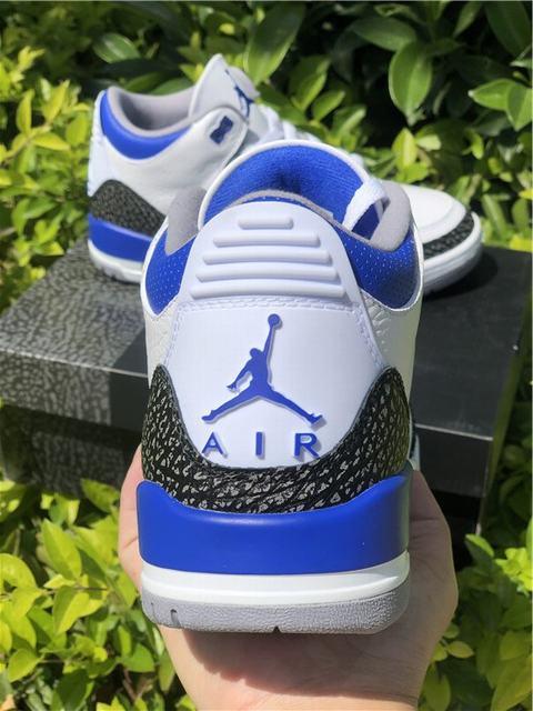 """Authentic Air Jordan 3 """"Racer Blue"""""""