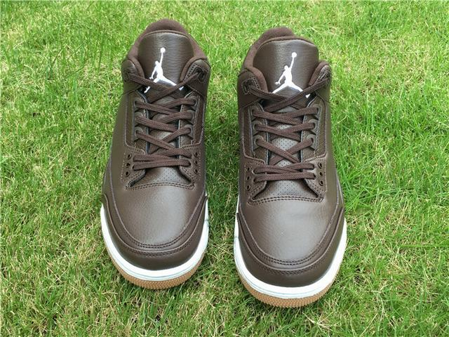 Authentic Air Jordan 3 Chocolate