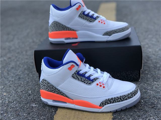Authentic Air Jordan 3 Knicks