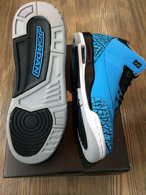 Authentic Air Jordan 3 Powder Blue GS