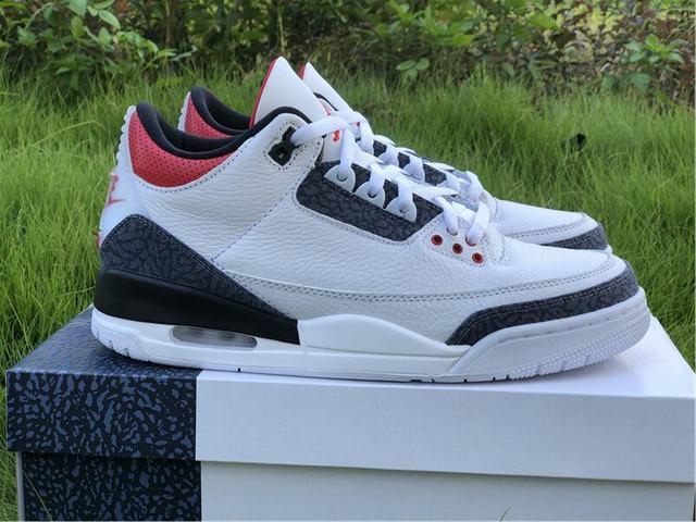"Authentic Air Jordan 3 SE DNM"" Fire Red"""