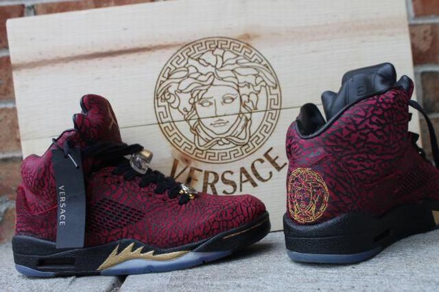 Authentic Air Jordan 3lab5 Versace(Wooden Box)