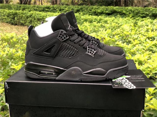 """Authentic Air Jordan 4 """"Black Cat"""""""