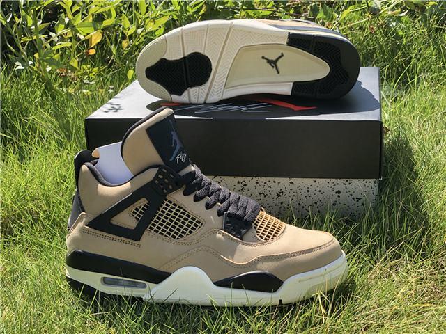 """Authentic Air Jordan 4 """"Mushroom"""""""