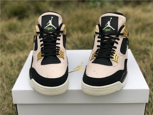 "Authentic Air Jordan 4 ""Silt Red"""