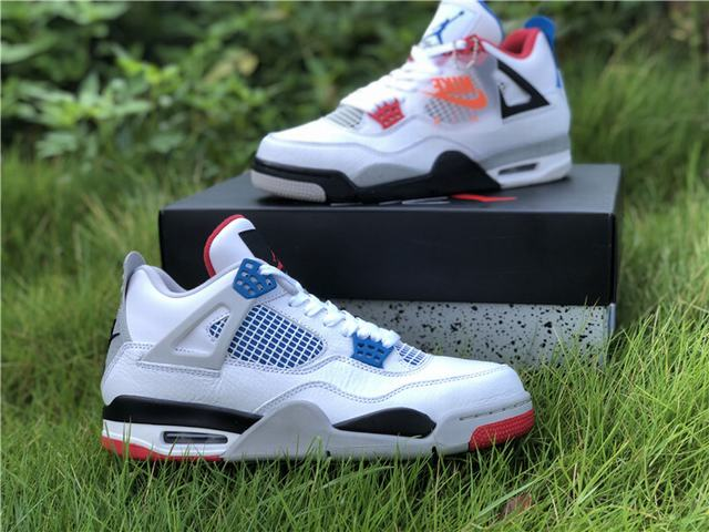 "Authentic Air Jordan 4 ""What The"""