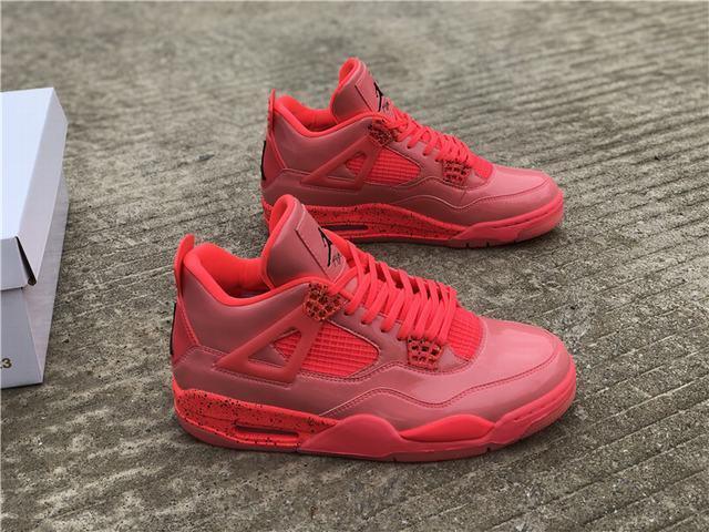 "Authentic Air Jordan 4 NRG ""Hot Punch"""