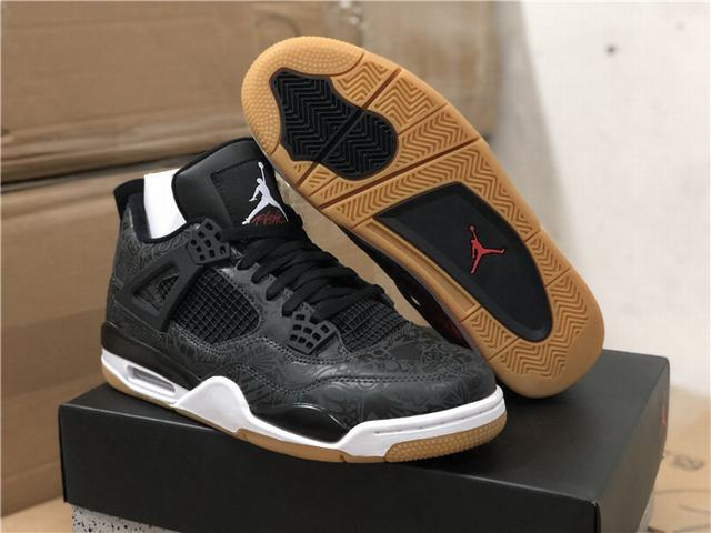 "Authentic Air Jordan 4 SE ""Black Gum"""