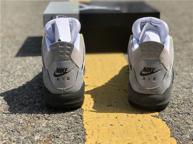 "Authentic Air Jordan 4 SE ""Neon"""