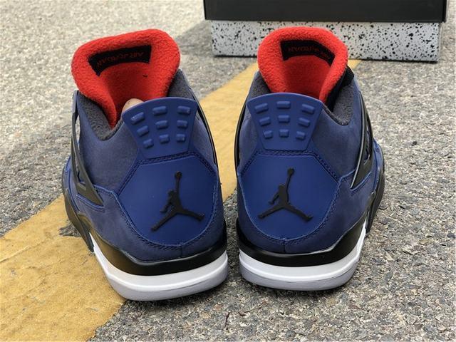 Authentic Air Jordan 4 Winter Loyal Blue