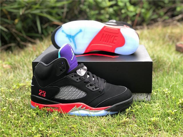 "Authentic Air Jordan 5 ""Top 3"""