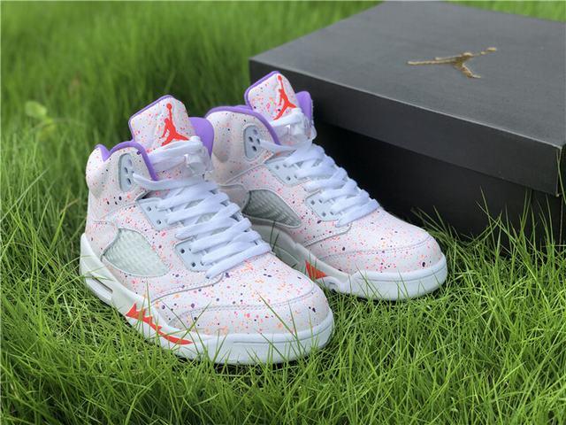 """Authentic Air Jordan 5 GS """"Easter"""""""