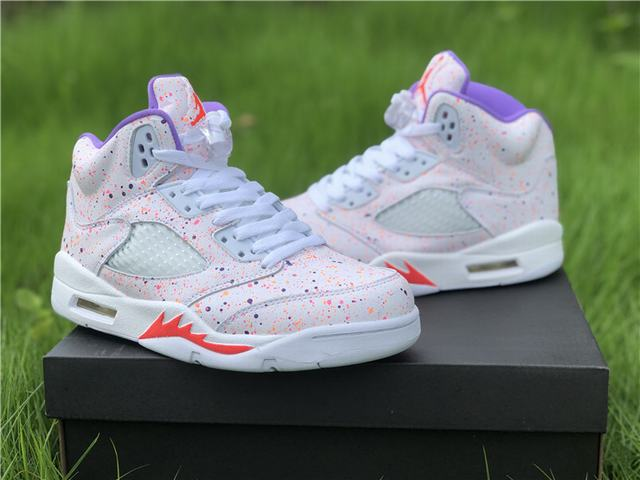"Authentic Air Jordan 5 GS ""Easter"""