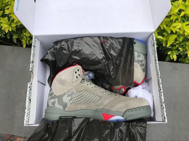 "Authentic Air Jordan 5 Retro ""Bape"""
