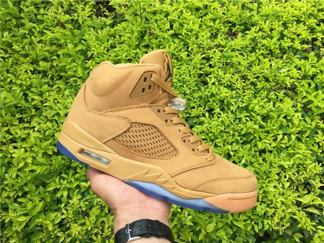 ea5ae8367b68a5 Authentic Air Jordan 5 Wheat on sale
