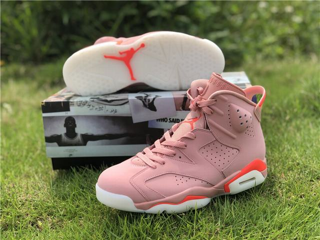"Authentic Air Jordan 6 ""Aleali May"""