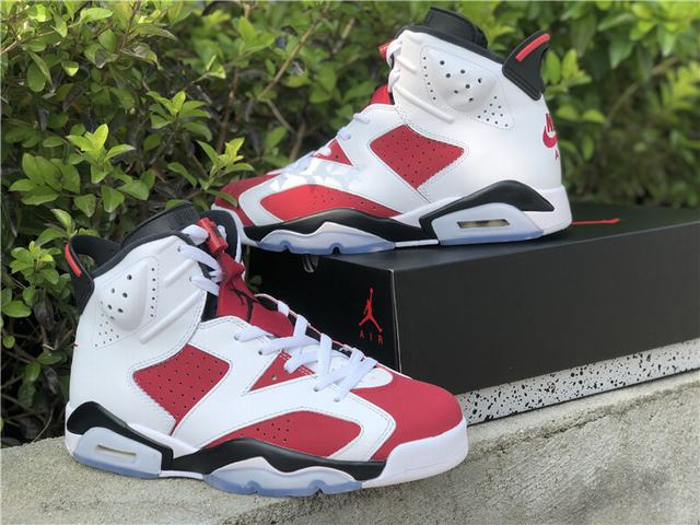 "Authentic Air Jordan 6 ""Carmine"" 2021"