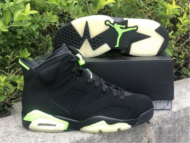 """Authentic Air Jordan 6 """"Electric Green"""""""
