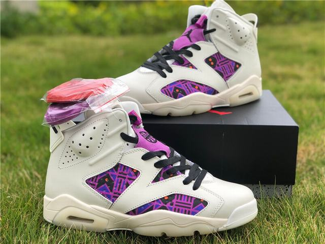 "Authentic Air Jordan 6 ""Quai 54"""