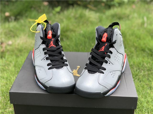 "Authentic Air Jordan 6 ""Reflective Bugs Bunny"" GS"