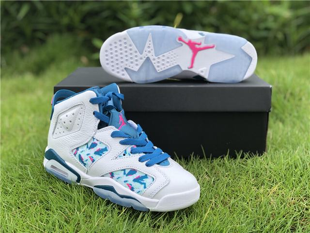 Authentic Air Jordan 6 GS GreenAbyss