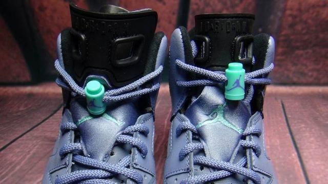 Authentic Air Jordan 6 Retro GS Bleached Turquoise