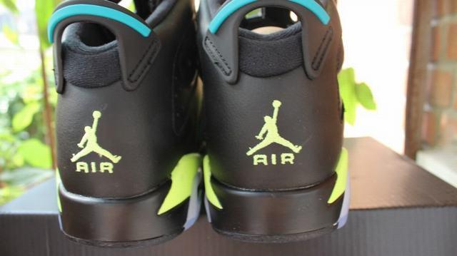 Authentic Air Jordan 6 Retro Turbo Green GS