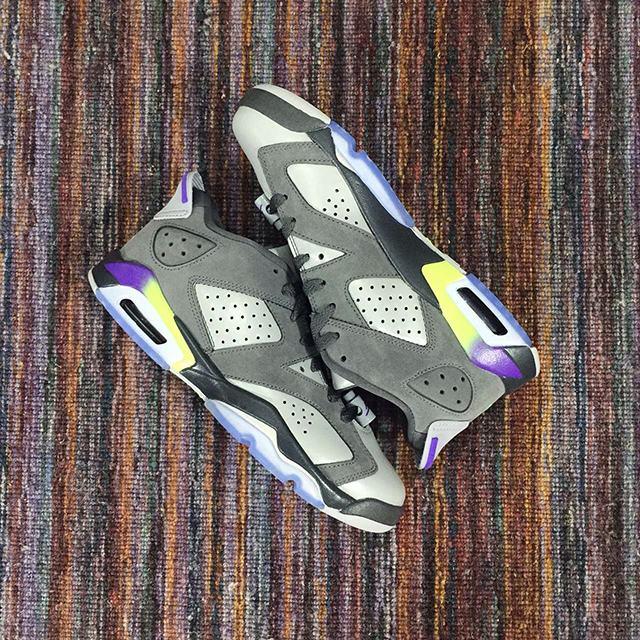 Authentic Air Jordan 6 Ultraviolet  Low GS