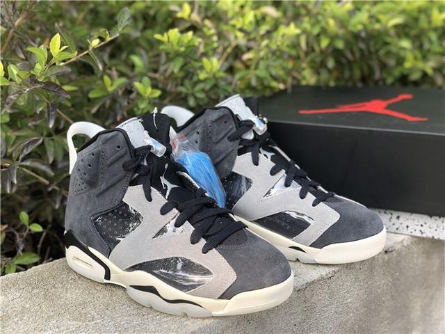 "Authentic Air Jordan 6 WMNS ""Smoke Grey"""