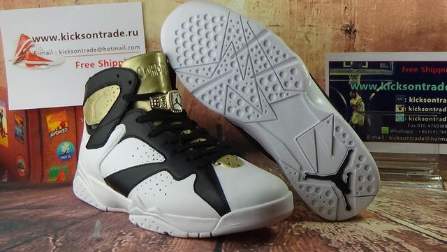 "Authentic Air Jordan 7 ""Champagne"""