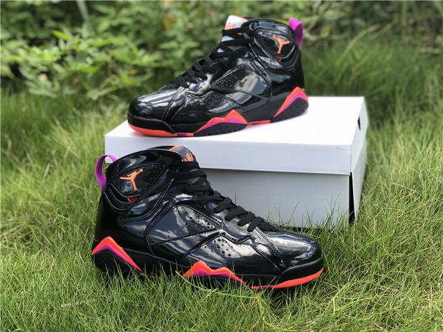 Authentic Air Jordan 7 Black