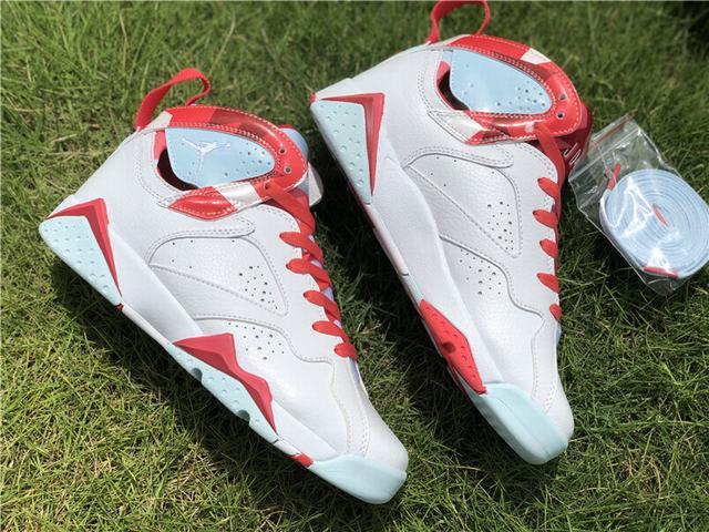 "Authentic Air Jordan 7 GS ""Topaz Mist"""