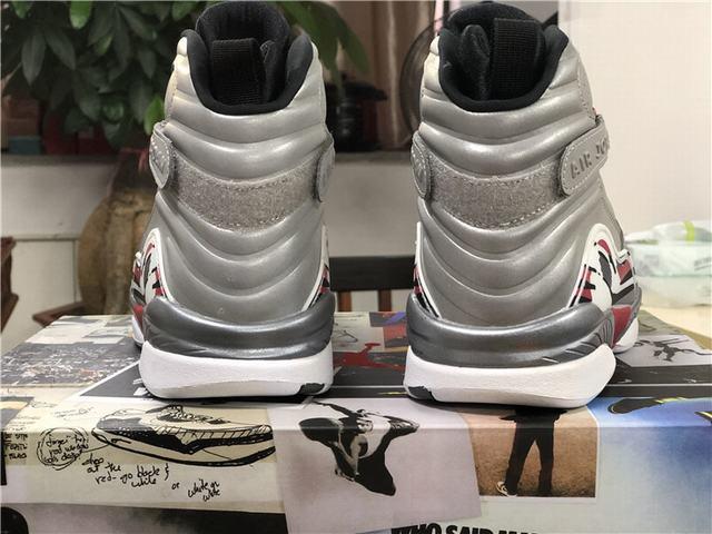 "Authentic Air Jordan 8 ""Reflective Bugs Bunny"""