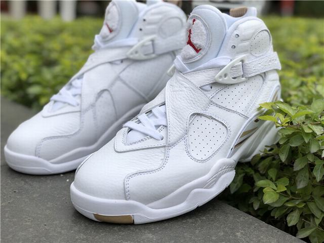 new arrival e511e 431eb Authentic Air Jordan 8 OVO White on sale,for Cheap,wholesale