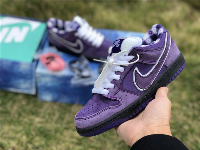 "Authentic Concepts x Nike SB Dunk Low ""Purple Lobster"