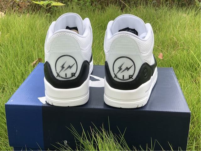Authentic Fragment x Air Jordan 3 SP