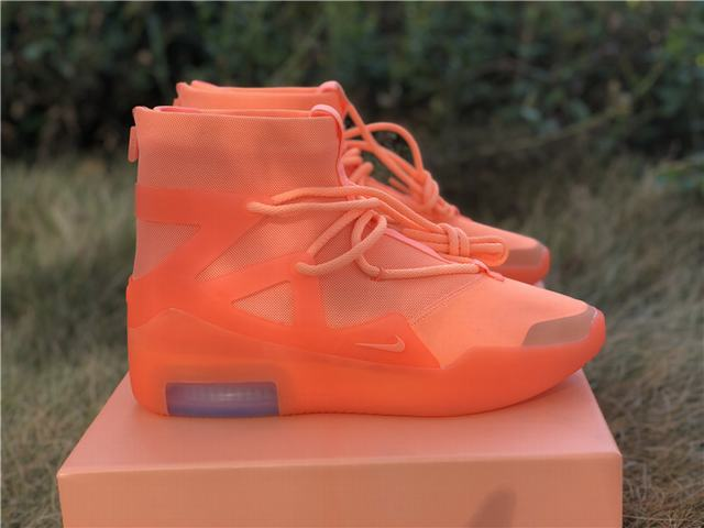 Authentic Nike Air Fear of God 1 FOG Orange