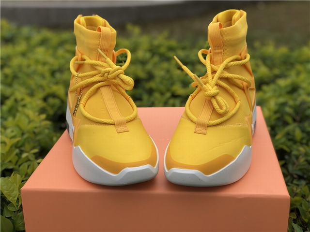 Authentic Nike Air Fear of God 1 FOG Yellow