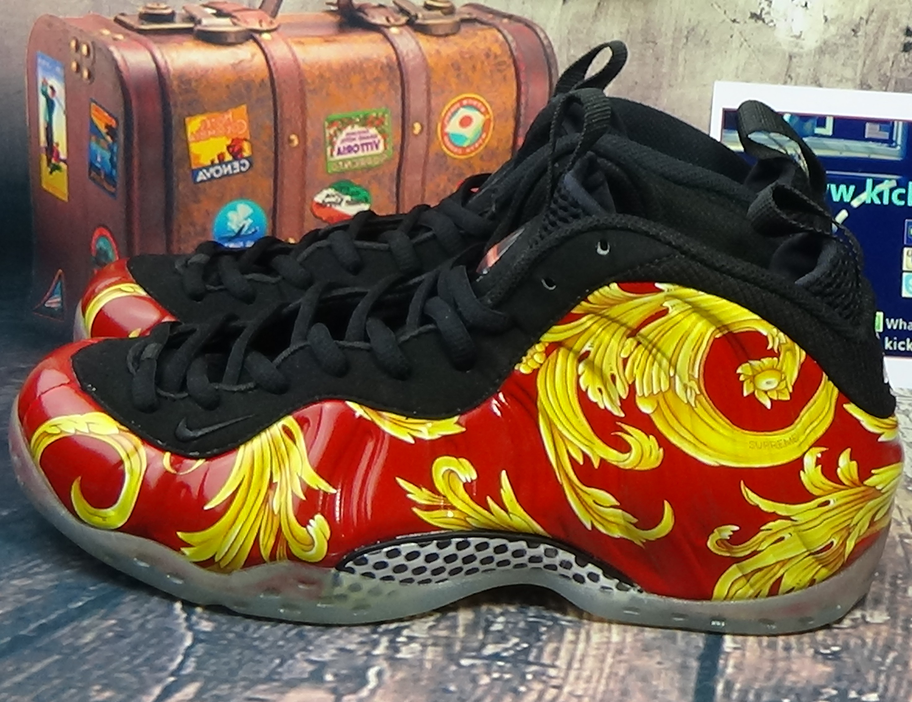 Authentic Nike Air Foamposite One Supreme SP