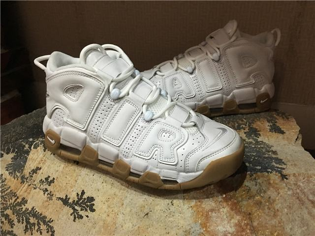 "Authentic Nike Air More Uptempo ""White Gum"""