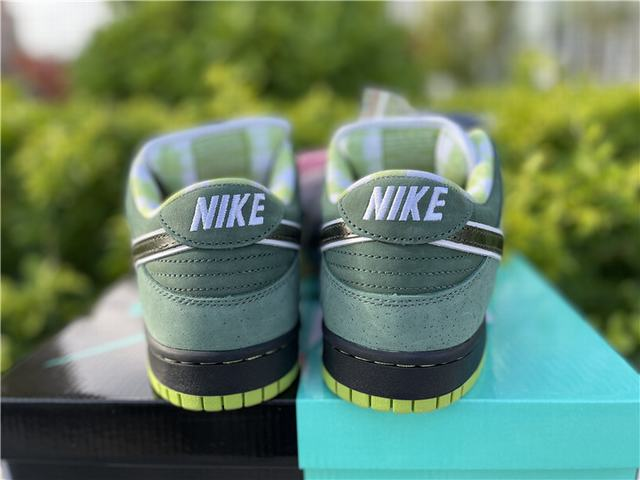 Authentic Nike Dunk SB Concepts Green Lobster