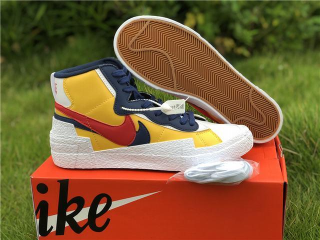 Authentic Nike x Sacai Blazer Shoes