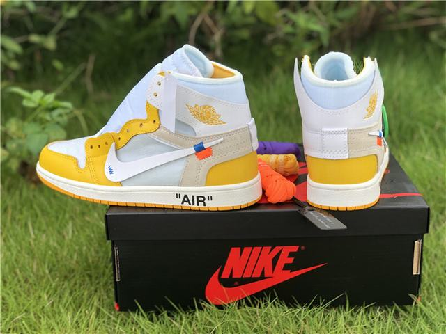 Authentic OFF-WHITE x Nike Yellow
