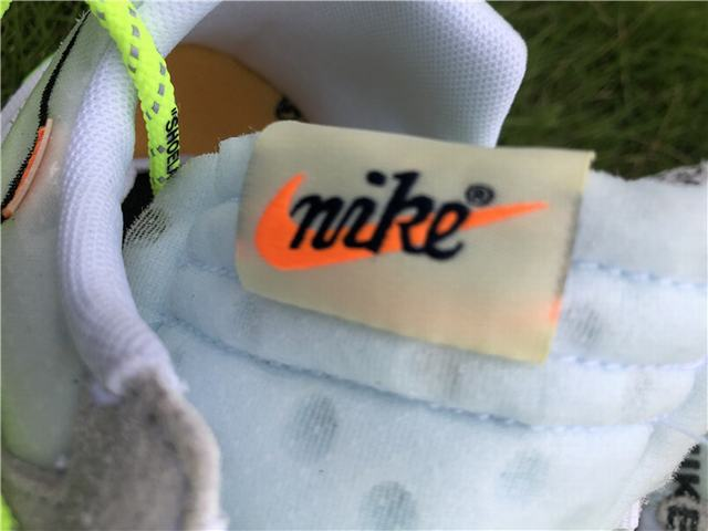 Authentic OFF-WHITE x Nike Zoom Terra Kiger 5 White Green