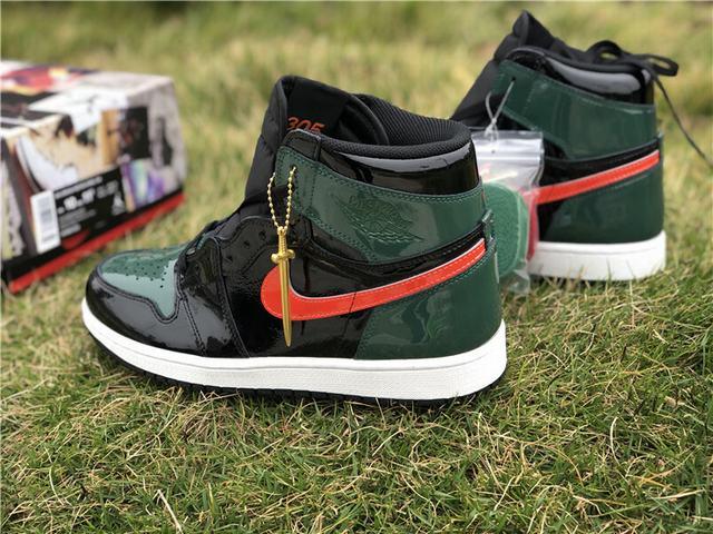 Authentic Solyfly x Air Jordan 1 Green